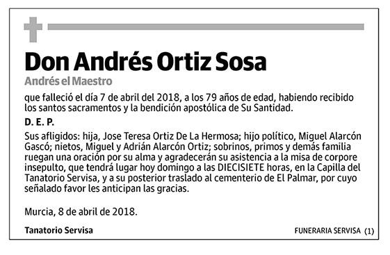 Andrés Ortiz Sosa