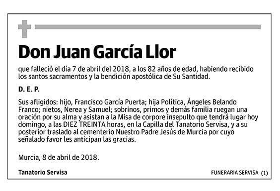 Juan García Llor