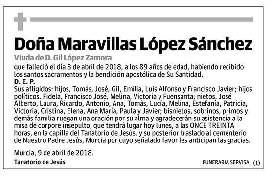 Maravillas López Sánchez