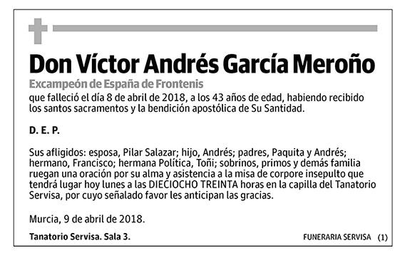 Víctor Andrés García Meroño