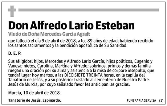 Alfredo Lario Esteban