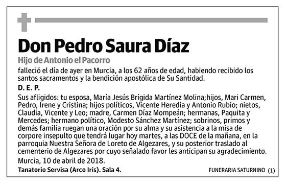 Pedro Saura Díaz