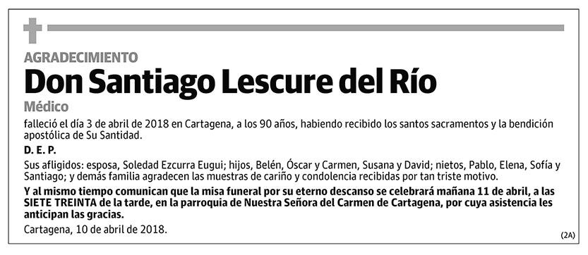 Santiago Lescure del Río