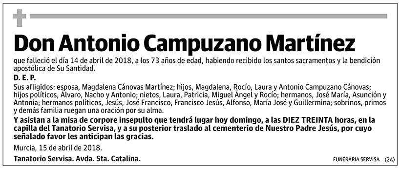 Antonio Campuzano Martínez