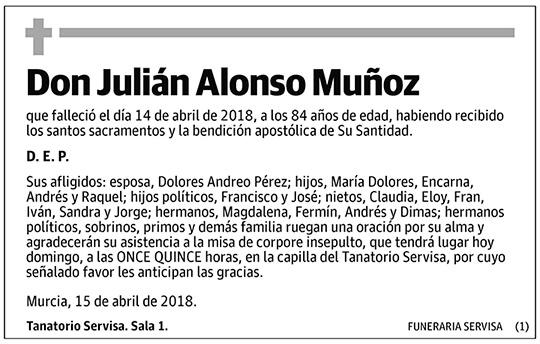 Julián Alonso Muñoz