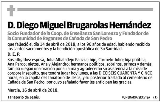 Diego Miguel Brugarolas Hernández