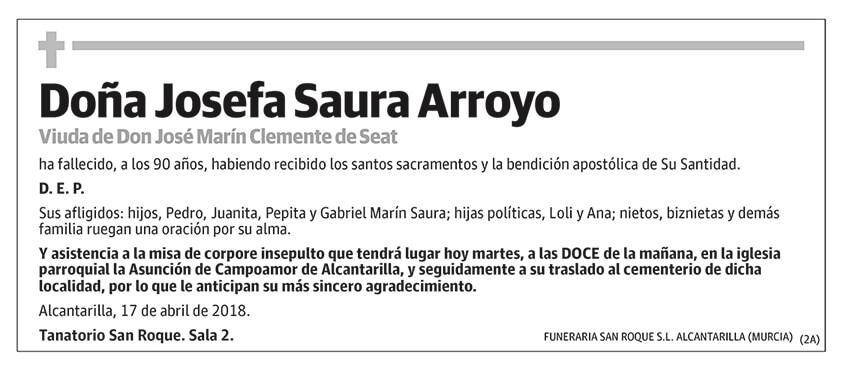 Josefa Saura Arroyo