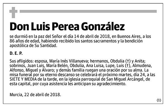 Luis Perea González