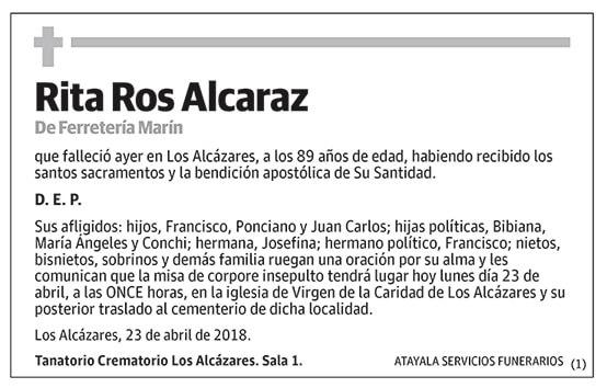 Rita Ros Alcaraz