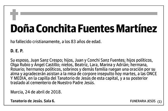 Conchita Fuentes Martínez