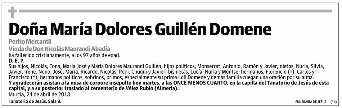 María Dolores Guillén Domene