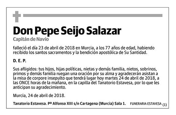 Pepe Seijo Salazar