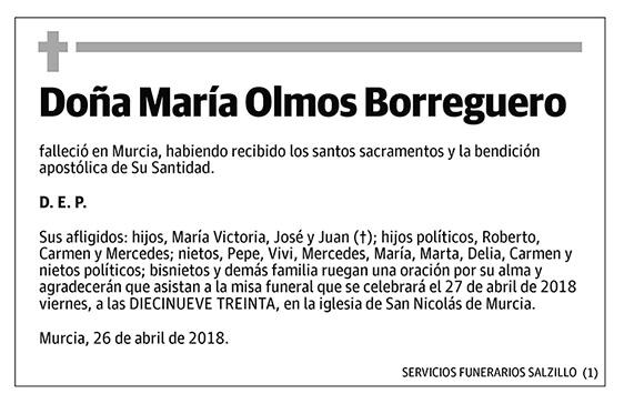 María Olmos Borreguero