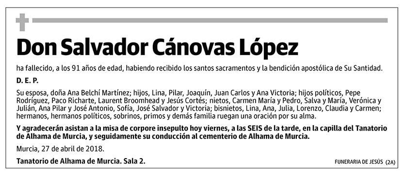 Salvador Cánovas López