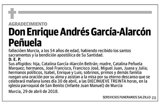 Enrique Andrés García-Alarcón Peñuela