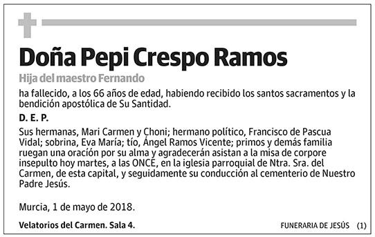 Pepi Crespo Ramos