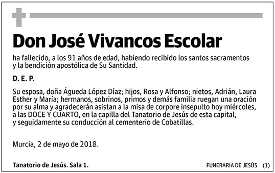 José Vivancos Escolar