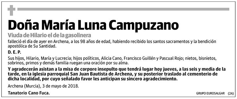María Luna Campuzano