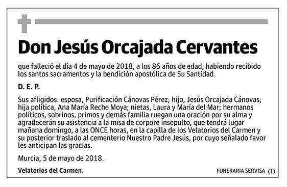 Jesús Orcajada Cervantes