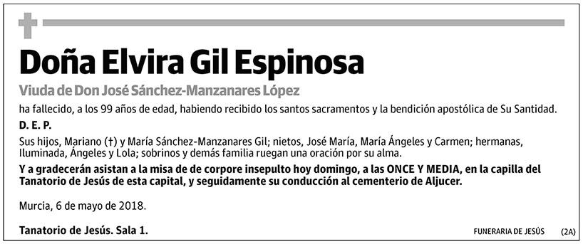 Elvira Gil Espinosa
