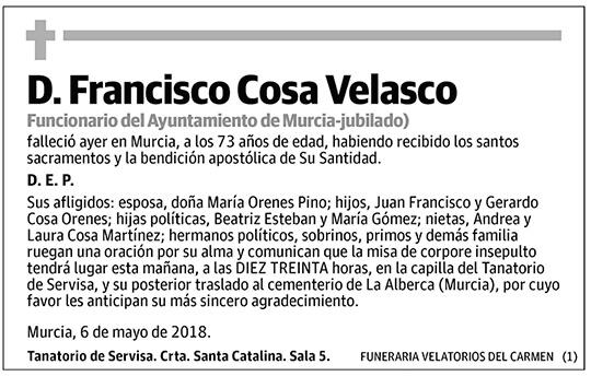 Francisco Cosa Velasco