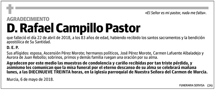 Rafael Campillo Pastor