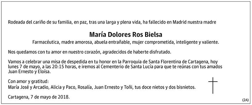 María Dolores Ros Bielsa