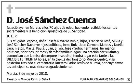 José Sánchez Cuenca