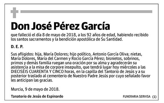 José Pérez García