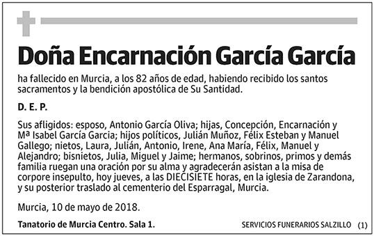 Encarnación García García