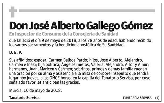 José Alberto Gallego Gómez