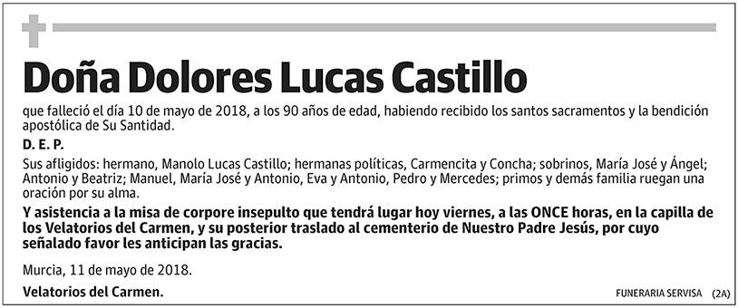 Dolores Lucas Castillo
