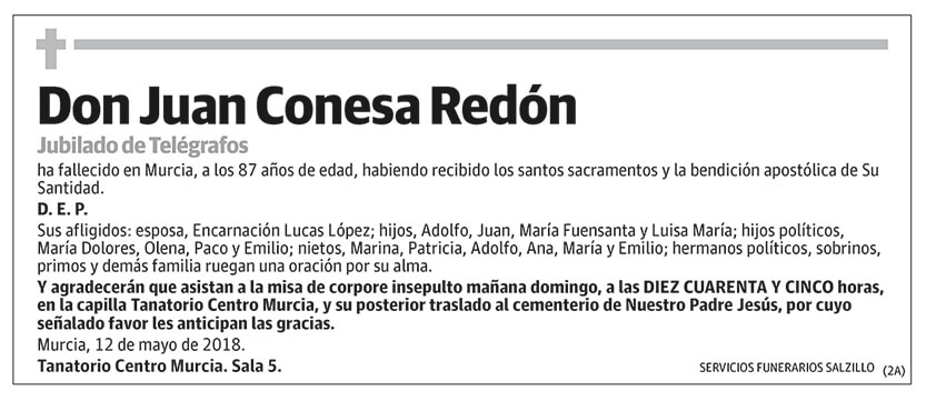 Juan Conesa Redón