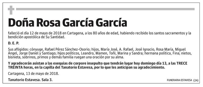 Rosa García García