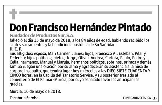 Francisco Hernández Pintado