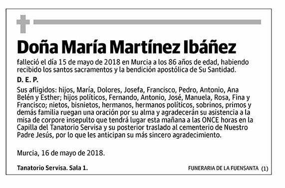 María Martínez Ibáñez