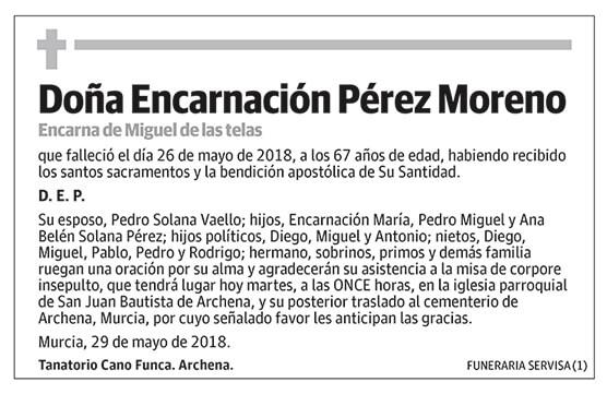 Encarnación Pérez Moreno