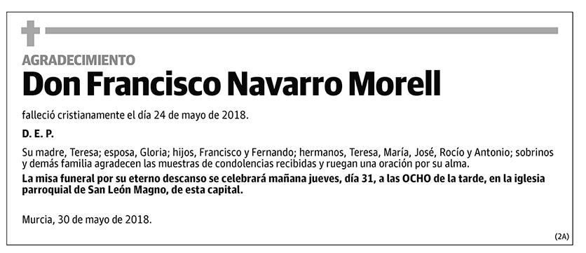 Francisco Navarro Morell