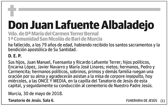 Juan Lafuente Albaladejo
