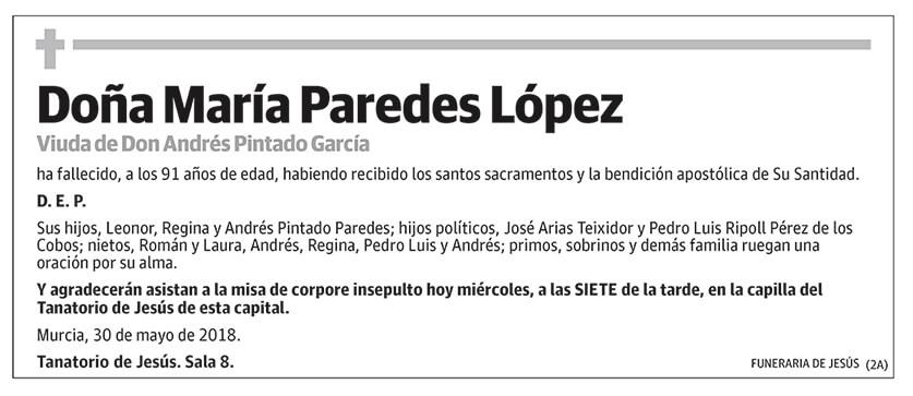 María Paredes López
