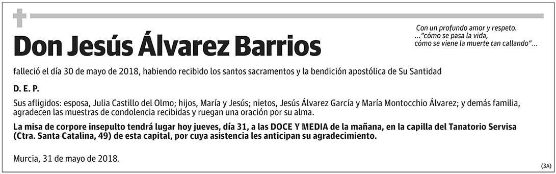 Jesús Álvarez Barrios