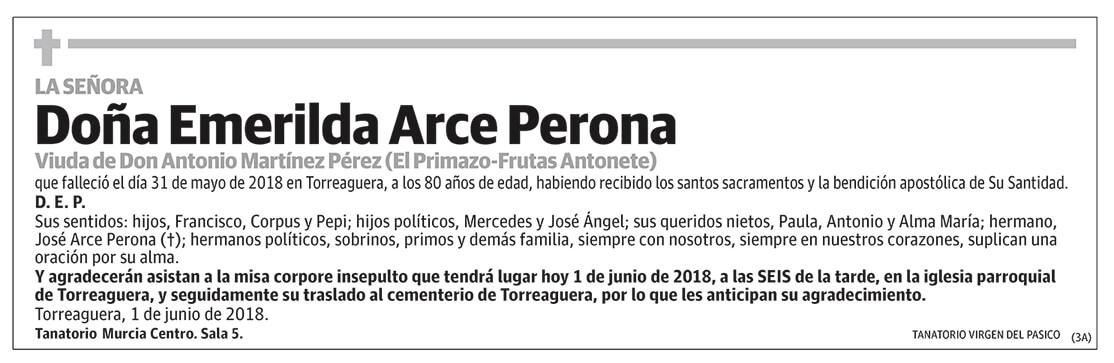 Emerilda Arce Perona