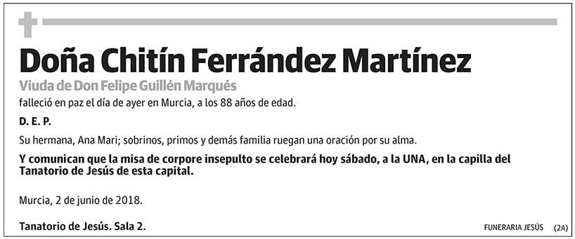 Chitín Ferrández Martínez