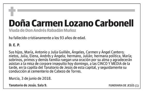 Carmen Lozano Carbonell