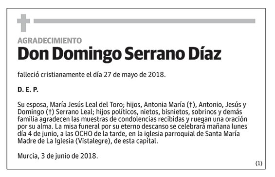 Domingo Serrano Díaz