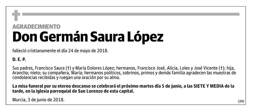 Germán Saura López