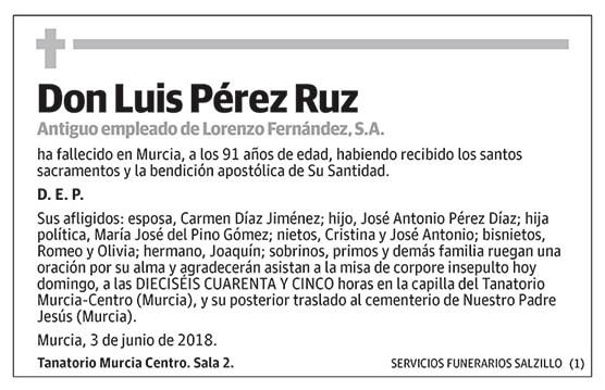 Luis Pérez Ruz