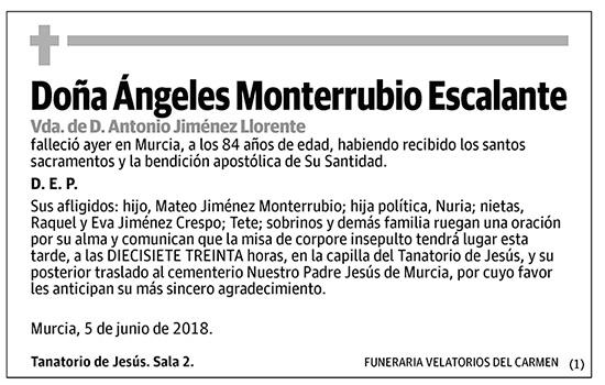 Ángeles Monterrubio Escalante