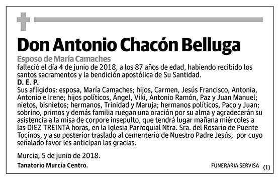 Antonio Chacón Belluga