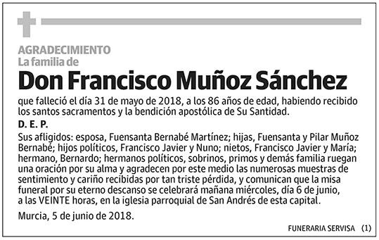 Francisco Muñoz Sánchez